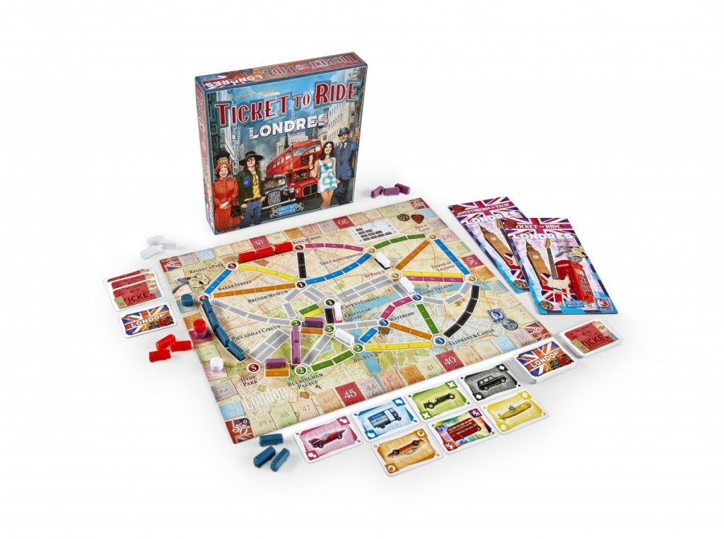 Ticket to Ride - Londres