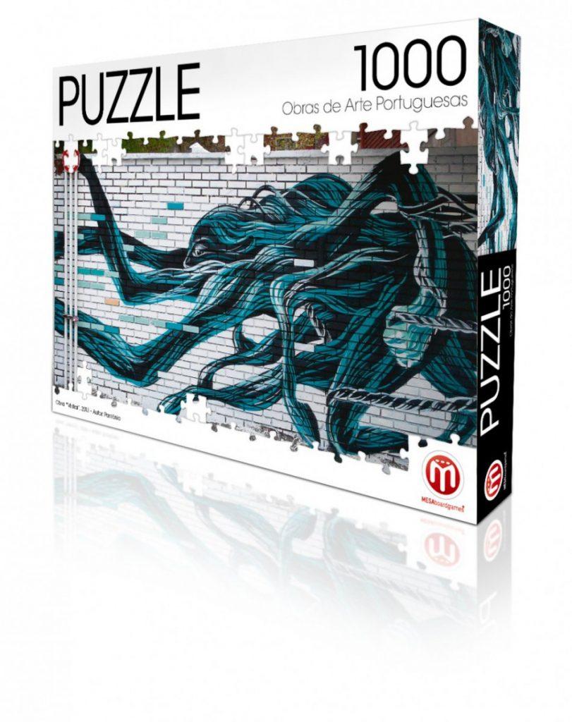 Puzzle Mistral - Pantónio - 1000 Pcs